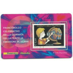 2006 TESSERA FILATELICA GIORNATA DELLA FILATELIA MF25945
