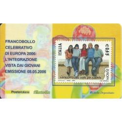 2006 TESSERA FILATELICA EUROPA INTEGRAZIONE 0,45 MF25950