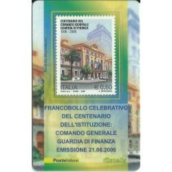 2006 TESSERA FILATELICA COMANDO GENERALE GUARDIA DI FINANZA MF25959