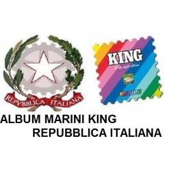 1962 / 1964 FOGLI ALBUM MARINI ITALIA REPUBBLICA MODELLO KING NUOVO MF25993