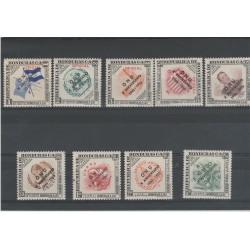 REPUBBLICA DE HONDURAS 1956  ONU 9 val  YV  PA 117/25   MNH MF52026