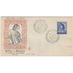 1948 FDC VENETIA ITALIA N. 2 GAETANO DONIZETTI NON VIAGGIATA MF52022