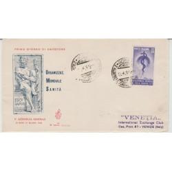 1949 FDC VENETIA ITALIA N. 22  SANITA'  NON  VIAGGIATA MF52016