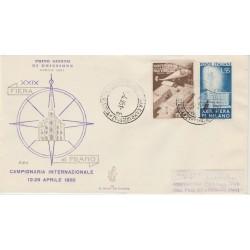 1951  FDC VENETIA ITALIA N. 89  FIERA DI MILANO  NON VIAGGIATA MF52113
