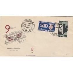 1951  FDC VENETIA ITALIA N. 91  ARTE TESSILE  NON VIAGGIATA MF52114