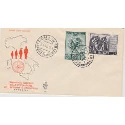1951  FDC VENETIA ITALIA N. 116 CENSIMENTO  NON VIAGGIATA MF52121