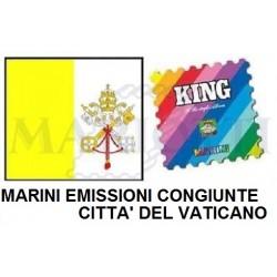 2013 FOGLI MARINI VATICANO...