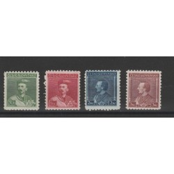 1934 CECOSLOVACCHIA CESKOSLOVENSKO 100 INNO NAZIONALE 2 TIRATURE 4 VAL MF22090