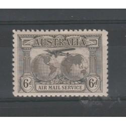1931 AUSTRALIA  GLOBI 1 VAL MNH MF51935