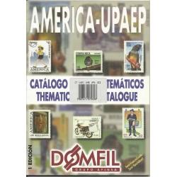 DOMFIL  CATALOGO TEMATICO AMERICA UPAEP 1 EDIZIONE MF6284