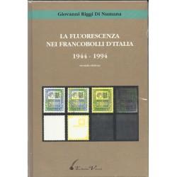 EDIZIONI  VACCARI LA FLUORESCENZA NEI FRANCOBOLLI ITALIANI 1944 / 1994 MF6283