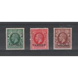 MAROCCO ZONA FANCESE 1935 GIORGIO V  TANGIER  3 VAL  MNH MF 51862