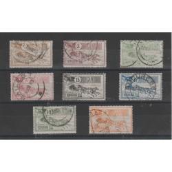 1903  ROMANIA NUOVO   PALAZZO DELLE POSTE  -  8 VAL  UNIF N 146-53  USATO  MF52237