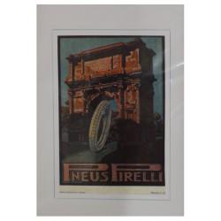 1921 PNEUMATICI PNEUS PIRELLI PUBBLICITA' D'EPOCA - ORIGINALE -