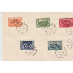 1924 ALBANIA  ASSEMLEA NAZIONALE  5  VAL USATI MICHEL 90/94 MF52495