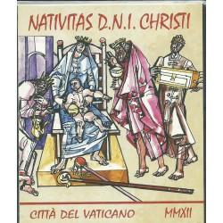 2012 VATICANO VATICAN CITY LIBRETTO NATALE OPERE DI JANOS HAJNEL MF26264