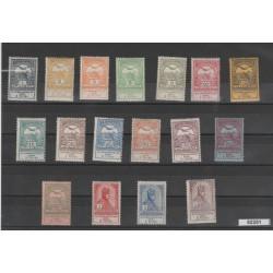 1913  UNGHERIA  PRO VITTIME INNONDAZIONE  17 VAL  MLH   MF52251