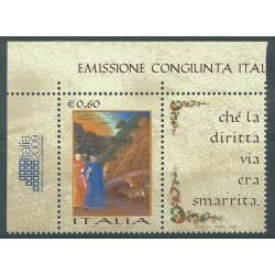 2009 EMISSIONE CONGIUNTA VATICANO ITALIA LINGUA ITALIANA 1 VALORE MNH MF26680
