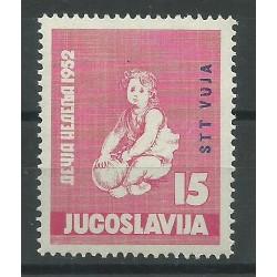 1952 TRIESTE B STT - VUJNA  INFANZIA  I VAL  MLH MF17244