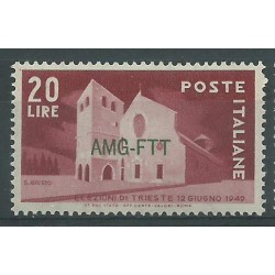 1949 TRIESTE A AMG-FTT 27 FIERA DI MILANO 1 VALORE NUOVO MNH MF23212