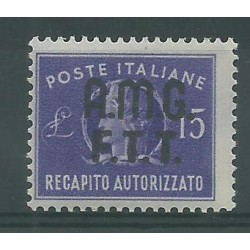 1949 TRIESTE A RECAPITO...