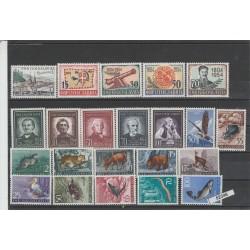 1954 JUGOSLAVIA  ANNATA COMPLETA 22 VAL MNH MF52346