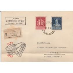 1949  FDC ITALIA  REPUBBLICA  VOLTA  NON VIAGGIATA MF52451