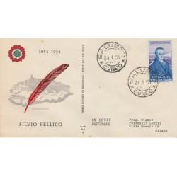 1955 FDC ALA ITALIA  PELLICO NON VIAGGIATA MF 52448