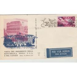 1956 FDC ALA ITALIA  CORTINA  NON VIAGGIATA MF52443