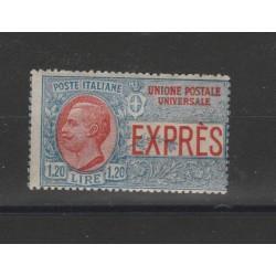 1922 REGNO ESPRESSO LIRE 1...