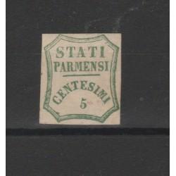 PARMA 1859 - 5 CENT VERDE SAS N 12 NUOVO DIENA  MF52697