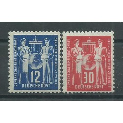 1949 GERMANIA DDR CONFERENZA SINDACATI DEI LAVORATORI POSTALI 1 V MNH MF26501