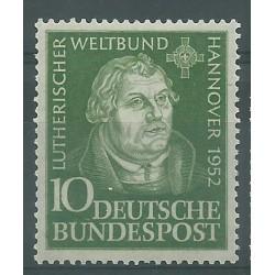 1952 GERMANIA FEDERALE CONGRESSO LUTERANO DI HANNOVER 1 V MLH MF26495