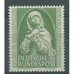 1952 GERMANIA FEDERALE CENT. MUSEO DI NORIMBERGA 1 V MNH MF26508
