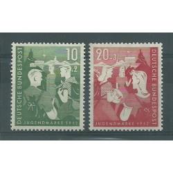 1952 GERMANIA FEDERALE OPERE PER LA GIOVENTU 2 VAL MNH MF26503