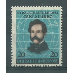 1952 GERMANIA FEDERALE NIKOLAUS OTTO INVENTORE MNH MF26551