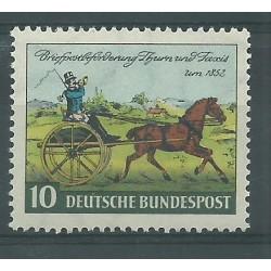 1952 GERMANIA FEDERALE GIORNATA DEL FRANCOBOLLO MNH MF26504