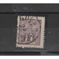 1866 SVEZIA  LEONE SDRAIATO N 13 - 1 V USATO MF52657