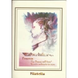 1999 REPUBBLICA ITALIANA FOLDER LA DONNA NELL'ARTE MF26897