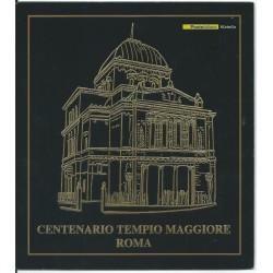 2004 ITALIA REPUBBLICA FOLDER CENTENARIO TEMPIO MAGGIORE ROMA MF26791