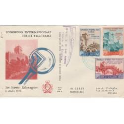 1956  FDC ALA SAN MARINO PERITI FILATELICI MF52925