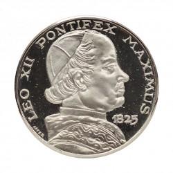 MEDAGLIA COMMEMORATIVA PAPALE PAPA LEONE XII 1825 ARGENTO SILVER 925 MF26815