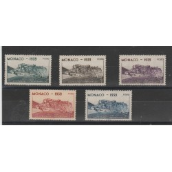 1939 MONACO GIOCHI UNIVERSITARI 5  VAL MNH  MF52913
