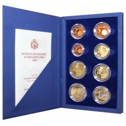 2008 SAN MARINO DIVISIONALE EURO 8 MONETE PROOF IN CONFEZIONE MF26780