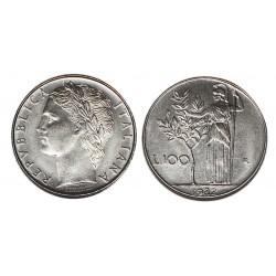 1982 REPUBBLICA ITALIANA MONETA LIRE 100 MINERVA 1 TIPO FDC MF26765