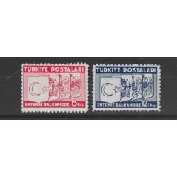 1937  TURCHIA TURKIYE INTESA BALCANICA 2  VAL MLH MF52716