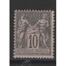 1877 - 80 FRANCIA FRANCE SAGE II TIPO  UNIF N 89 -1VAL MNH MF52893
