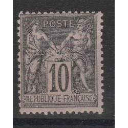1877 - 80 FRANCIA FRANCE SAGE II TIPO  UNIF N 89 -1VAL MNH MF52983