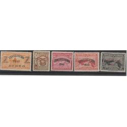 1941  PANAMA  NUOVA COSTITUZIONE 5 VAL  MNH  MF52999