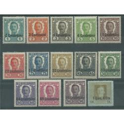 1918 FRIULI - VENETO OCCUPAZIONE AUSTRIACA POSTA DA CAMPO 14 V MLH MF27044